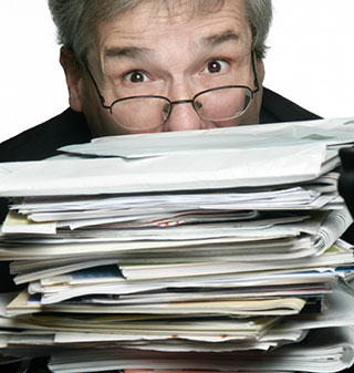 Care home fees paperwork